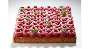 La tarte aux framboises de Cyril Lignac