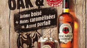 Un apéro au rhum coca signé Bacardi Oakheart