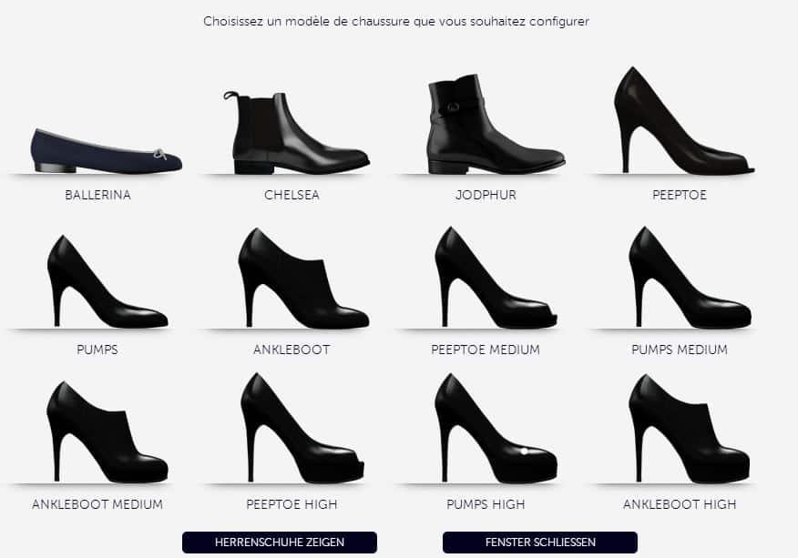 Modèles Scarosso à Customiser - Femme