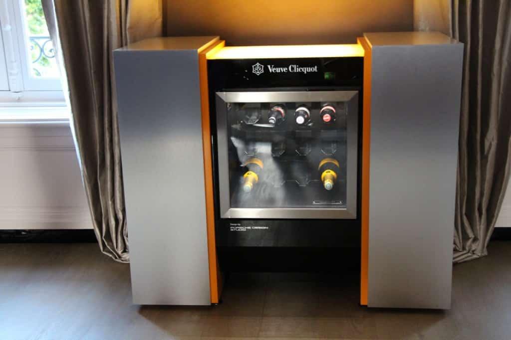 frigo veuve clicquot- hôtel du marc