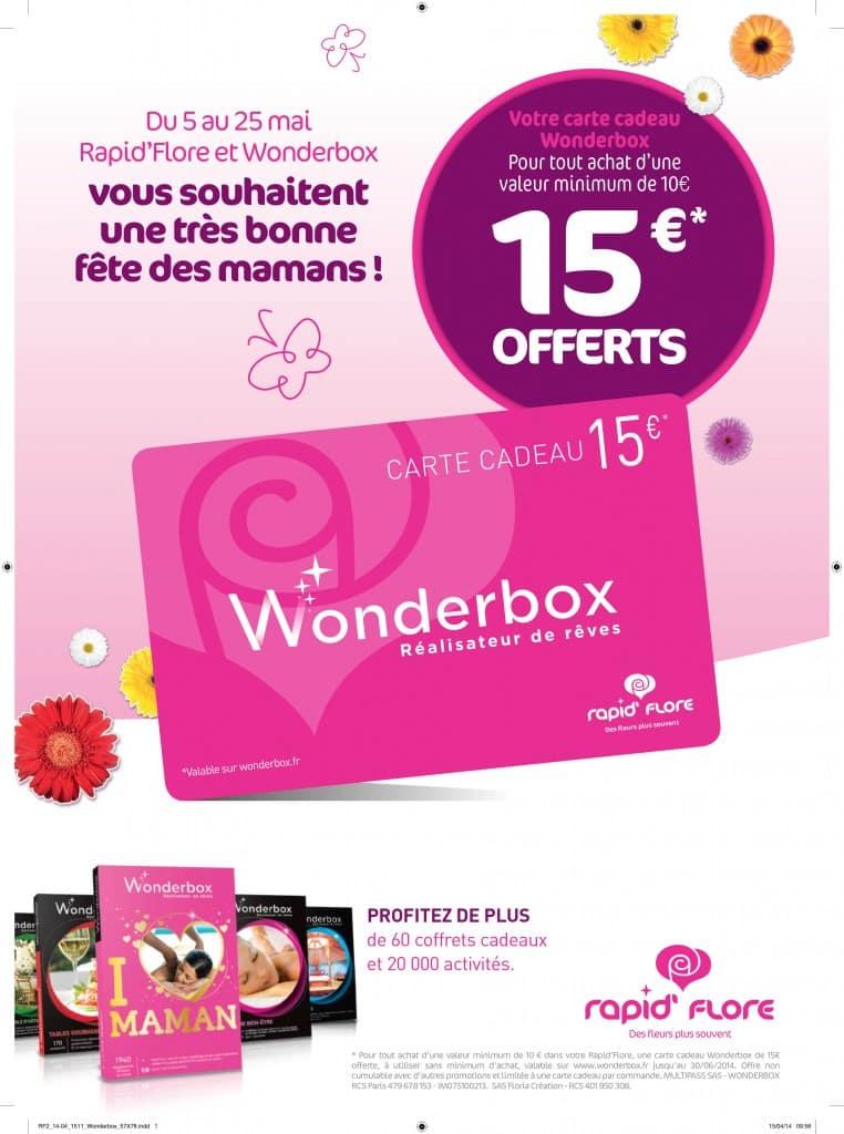 groupe monceau fleurs wonderbox