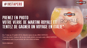 Martini et les influenceurs Instagram #instapero