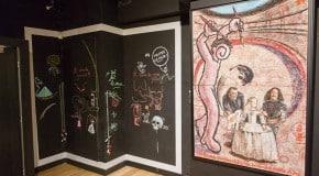 Dalí fait le mur à Paris