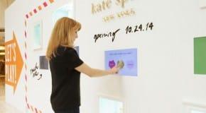 Kate Spade : une façade interactive