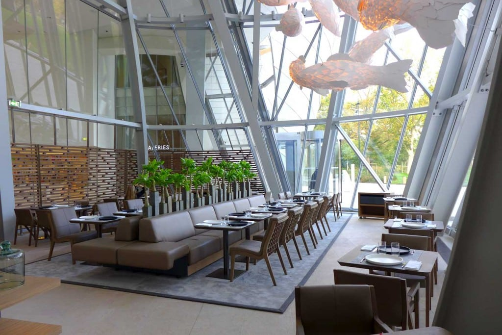 Franck restaurant fondation vuitton 2