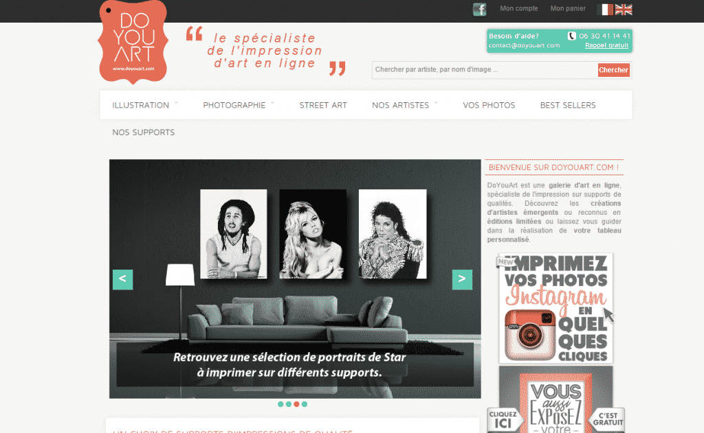 doyouart site design