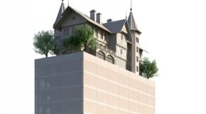 """Le dernier né de Philippe Starck: """"l'hôtel dans le ciel"""""""