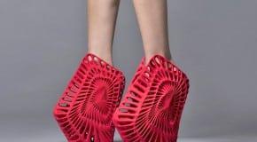 Expo de chaussures imprimées en 3D à Milan