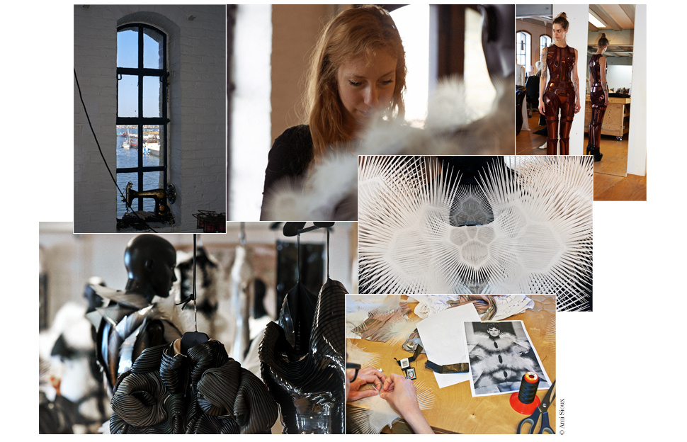 atelier 3D d'Iris van Herpen