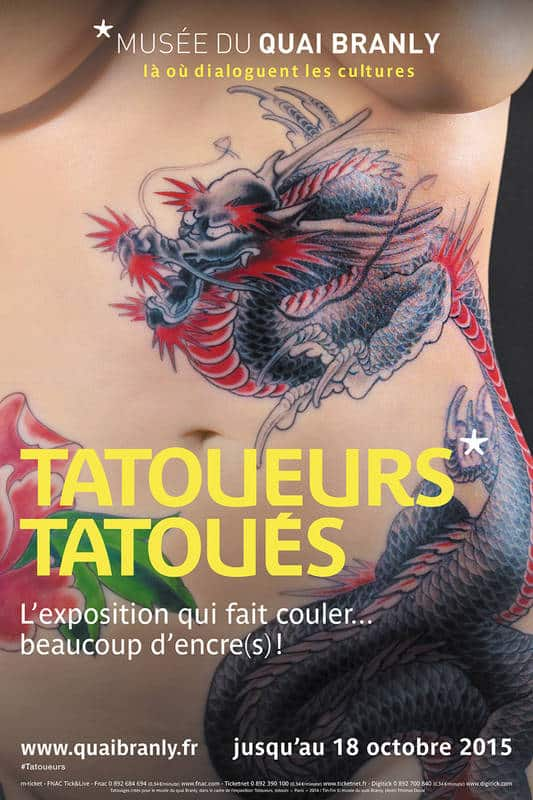 exposition tatouages quai branly