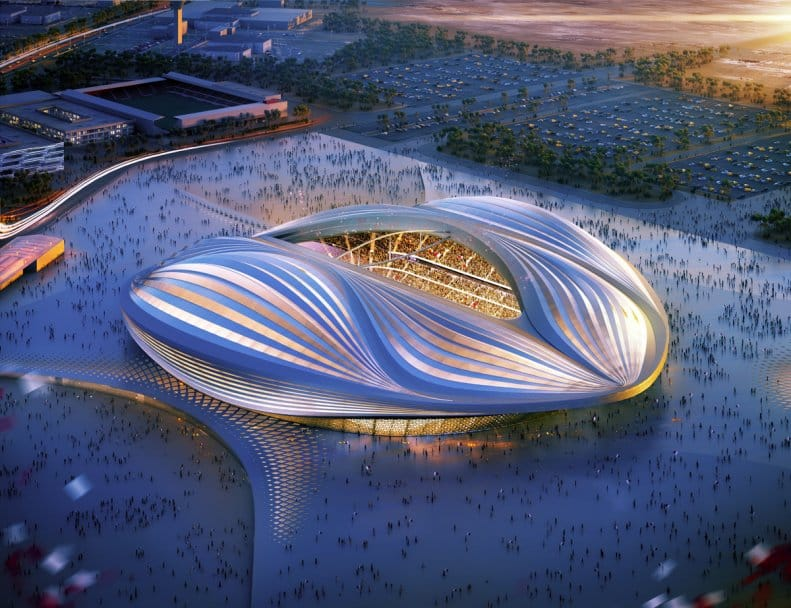zaha hadid projet qatar 2022