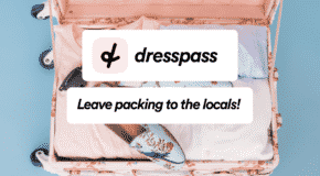 Dress Pass mise sur la location de vêtements personnels