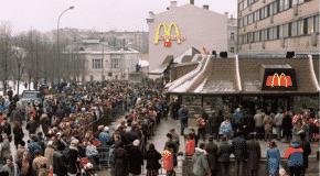 L'apparition et l'évolution des chaînes de restauration rapide en Russie