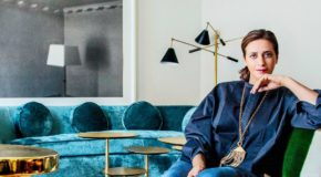 India Mahdavi, la reine de la couleur